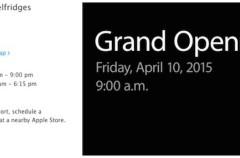 Apple abrirá el 10 de abril varias tiendas exclusivas para la venta del Apple Watch