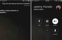 Finalmente iOS 8.3 permitirá hacer llamadas con el altavoz externo al usar Siri