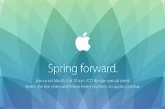 Bienvenido, Apple Watch. Vive con nosotros la keynote Spring Forward de hoy