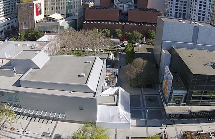 Apple está construyendo un espacio anexo al Yerba Buena Center para el evento del día 9