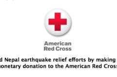 Apple se solidariza con las víctimas del terremoto de Nepal
