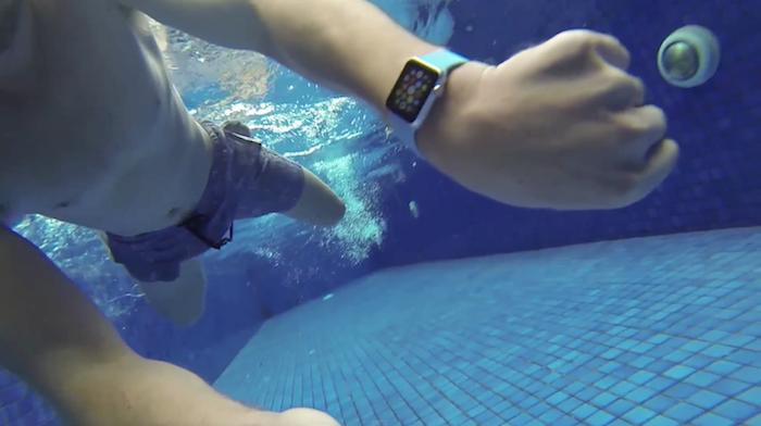 Apple Watch sumergible