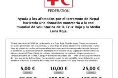 Ayuda a las víctimas del terremoto de Nepal a través de iTunes España