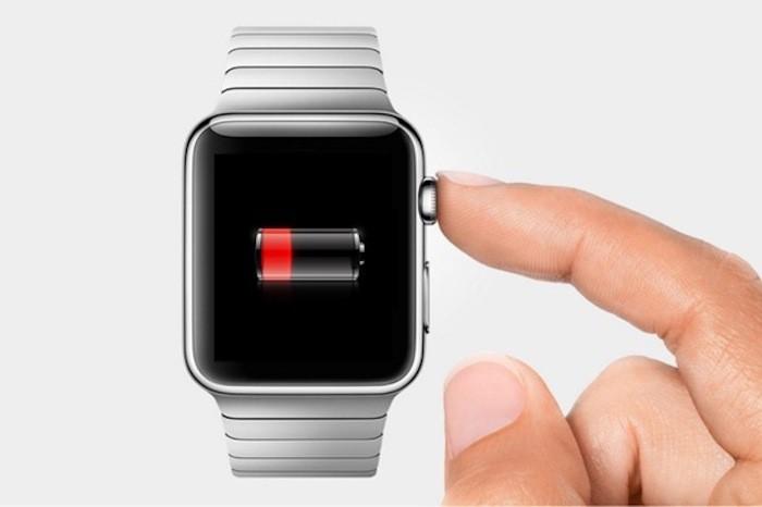 Bateria baja Apple Watch