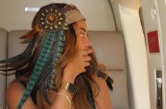 ¡Eh! Que Beyoncé también tiene un Apple Watch dorado…
