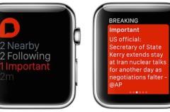 Siempre al tanto de la actualidad informativa con tu Apple Watch