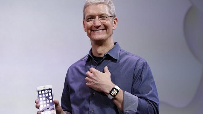 Tim Cook apunta a finales de junio para lanzar el Apple Watch en el resto de paises