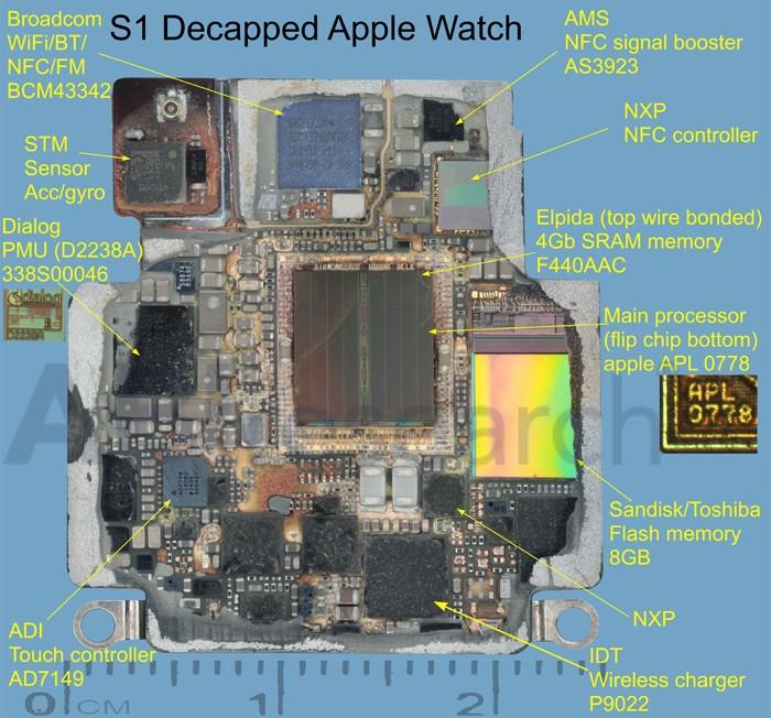 Interior Apple Watch