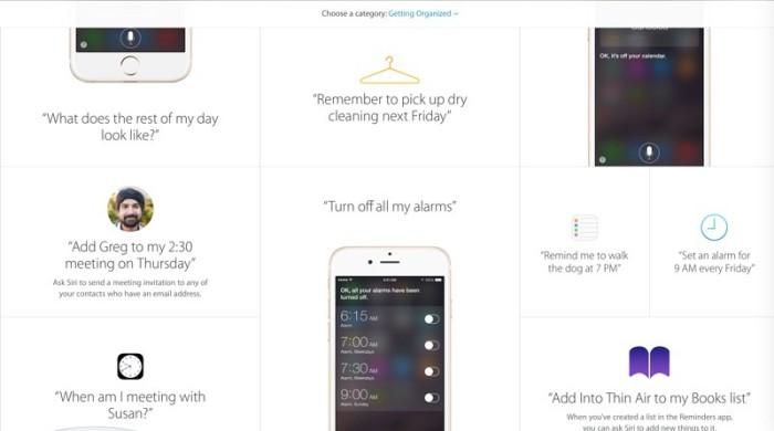 Siri Webpage 2