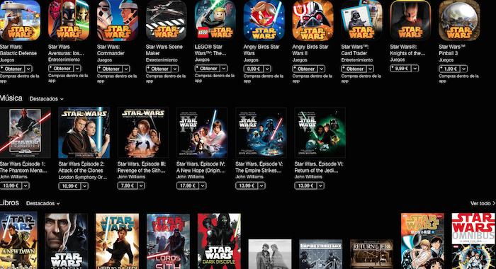 Star Wars iTunes 3