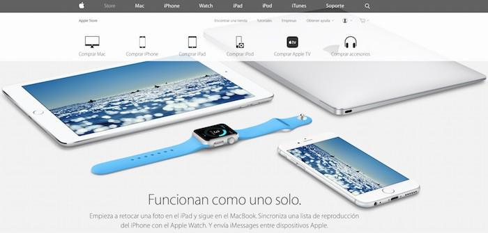 Apple empieza a mostrar el Apple Watch como parte de su ecosistema de dispositivos conectados