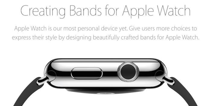 """Apple lanza el programa de correas de terceras partes """"Made for Apple Watch"""""""