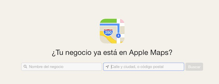 AppleMapsConnectSearch