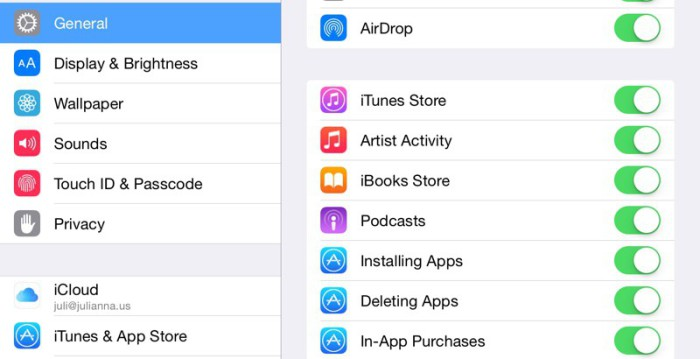 Artsis Activiti iOS 8.4