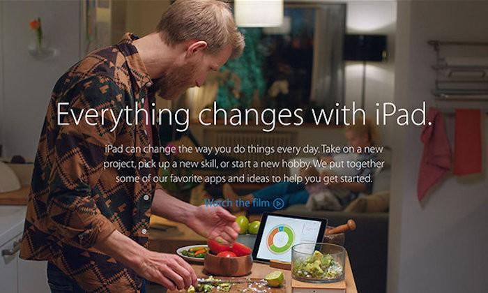 Campaña iPad