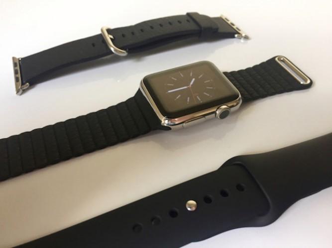 Las Apple Store empezarán a almacenar algunas correas del Apple Watch sólo para vender en casos muy concretos