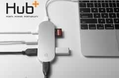 Hub+, la solución al puerto USB-C único del nuevo MacBook que arrasa en Kickstarter
