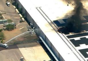 Se incendia una fábrica de Apple en Arizona