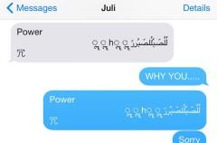 Descubierto un fallo en iOS que cuelga los iPhone con un mensaje de texto