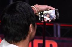Manny Pacquiao cambia su iPhone por un Galaxy S6… pero solo aguanta un día