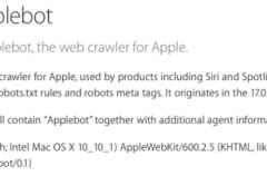 Apple confirma la existencia de su propio motor de búsqueda: Applebot