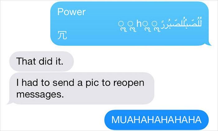 solucion mensajes iPhone
