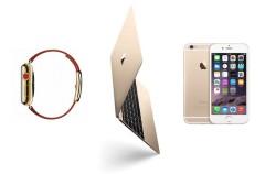El color dorado de los productos Apple es por el mercado asiático