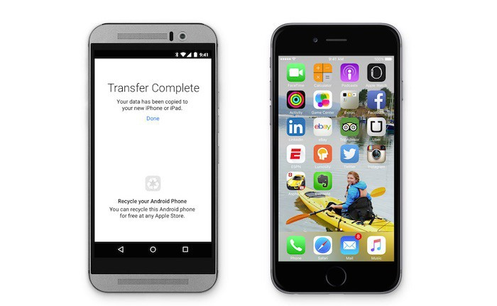 """Apple muestra su nueva app para ayudar a los usuarios de Android a que se """"muevan a iOS"""""""
