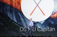 Apple presenta OS X El Capitan, el próximo sistema operativo de los Mac