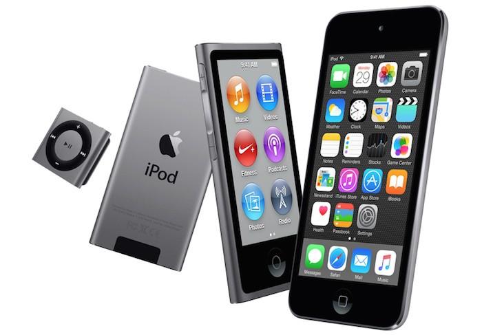 iPod-familia