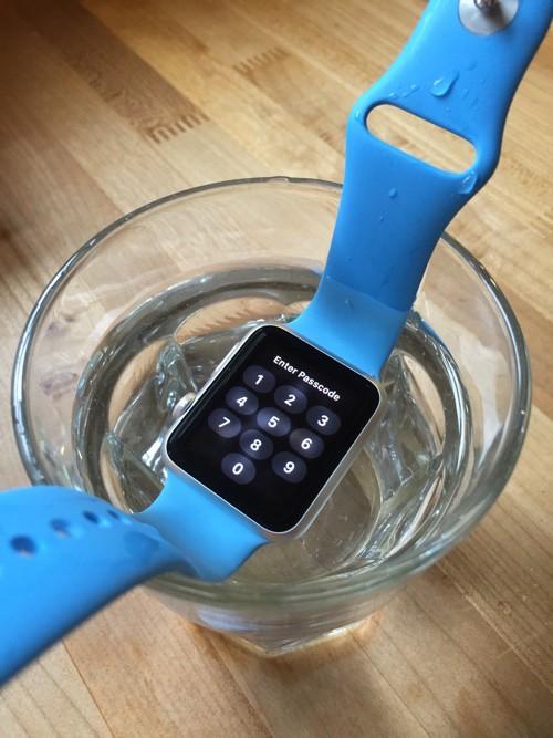 Apple Watch agua