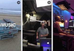 Apple Music ya tiene cuenta en Snapchat