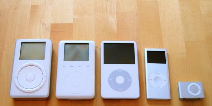 Evolucion del iPod