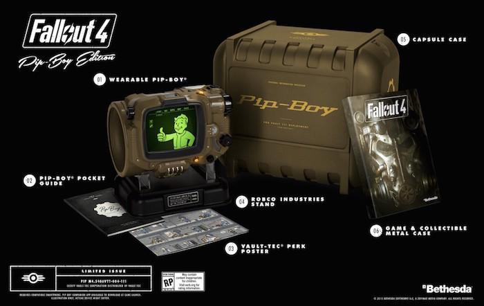 El Pip-Boy de la edición especial de Fallout 4 no será compatible con el iPhone 6 Plus