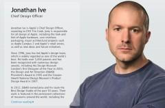 Jonathan Ive es el nuevo Jefe de Diseño de Apple