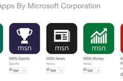 Microsoft elimina algunas de sus aplicaciones MSN para iOS y otras plataformas