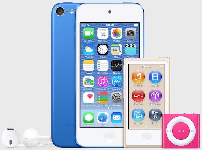 Nuevos iPod