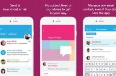 Microsoft fusiona el email con la mensajería instantánea con su nueva app Send