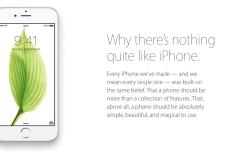 Porque no hay nada parecido a un iPhone…