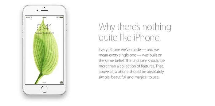 Si no es un iPhone