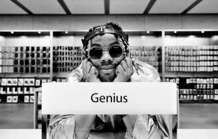 Prince Harvey, el rapero que grabó su álbum en una Apple Store