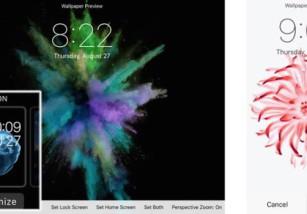 El tema Motion se extiende del Apple Watch al iPhone 6s