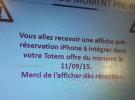 Operadoras francesas dicen que las reservas del nuevo iPhone empezarán el 11 de septiembre