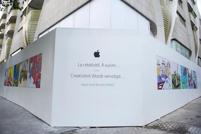 Bélgica se prepara para inaugurar su primera Apple Store