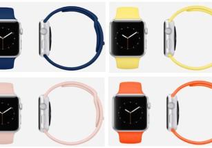 Nuevas correas en más colores para el Apple Watch Sport