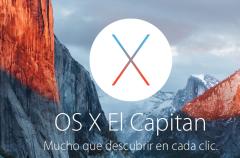 OS X El Capitan llegará mañana como actualización gratuita