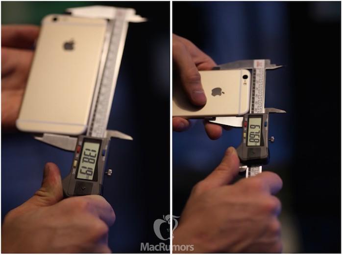 Grosor iPhone 6s
