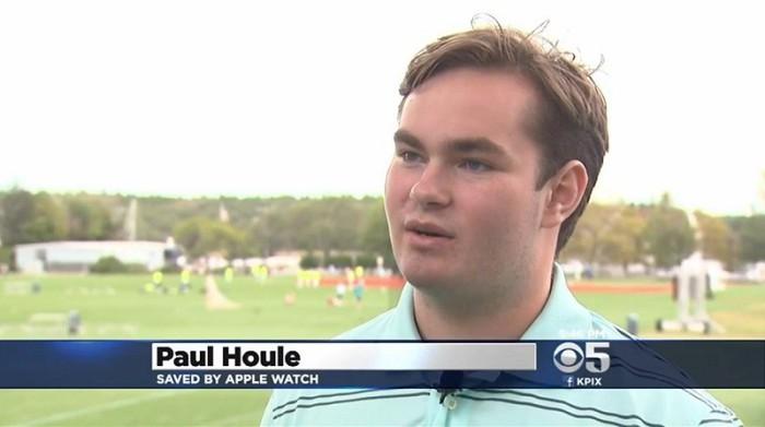 Tim Cook premia al adolescente que salvó su vida gracias al Apple Watch