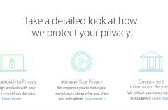 Así maneja Apple la información personal y la privacidad en sus dispositivos