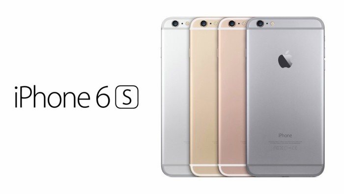 iPhone 6s colores